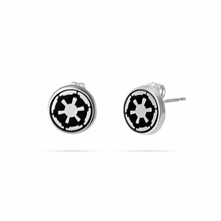 Galactic Empire Symbol Stud Earrings in Stainless Steel