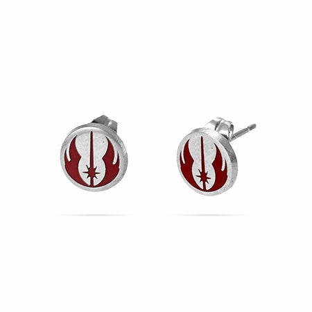 Jedi Order Enamel & Stainless Steel Stud Earrings