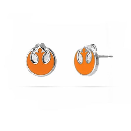 Star Wars Rebel Alliance Enamel Stud Earrings