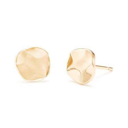 gorjana Gold Chloe Small Stud Earrings