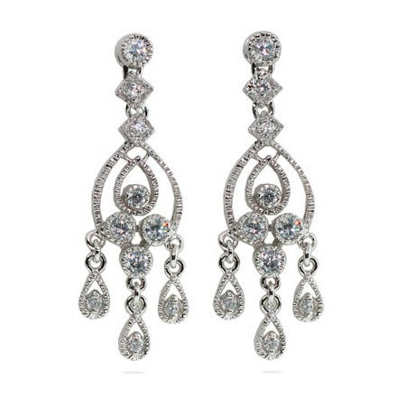 Celebrity Style Chandelier Earrings | Eve's Addiction®