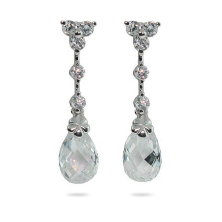 Celebrity Inspired Earrings in Crystals and CZ | Eve's Addiction®
