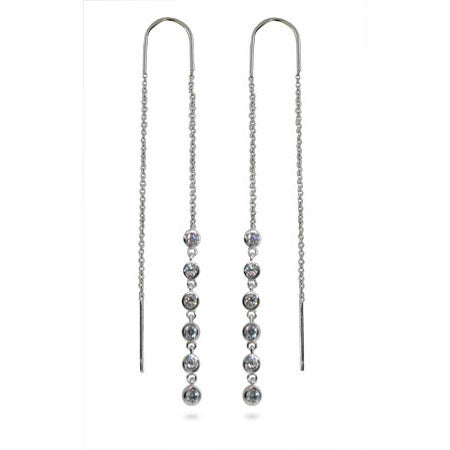Designer Style Jazz Bubble Threader Earrings | Eve's Addiction®