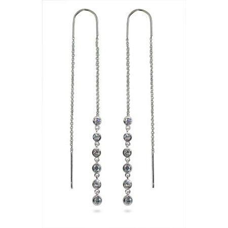 Designer Style Jazz Bubble Threader Earrings | Eve's Addiction®