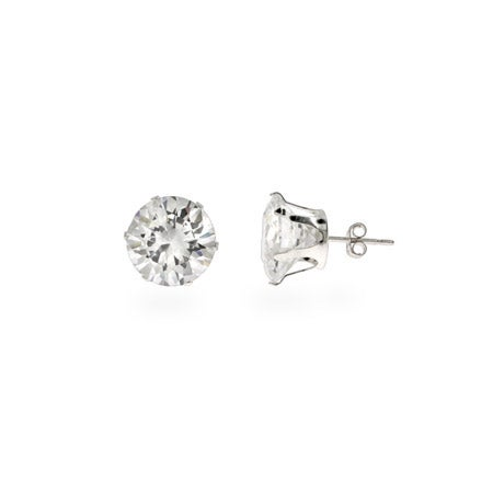 Bling Bling 5 Carat CZ Stud Mens Earrings | Eve's Addiction®