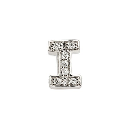 Stylish I Initial Earring for Custom Style | Eve's Addiction®