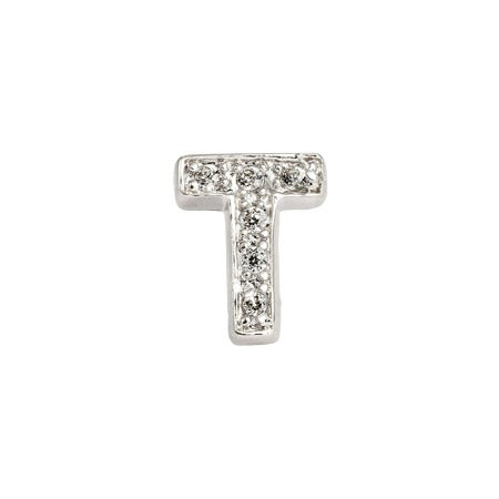 Block Letter T Single Stud | Eve's Addiction®
