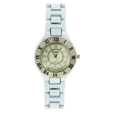 White Roman Numeral Ladies Watch | Eve's Addiction®