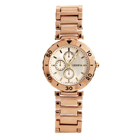 Designer Inspired Modern Rose Gold Vintage Flair Watch | Eve's Addiction®