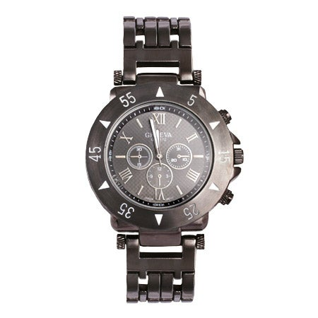 Men's Watch in Gunmetal Stainless Steel | Eve's Addiction®