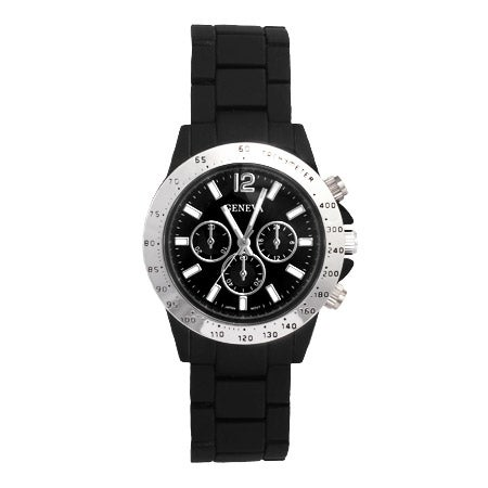 Men's Watch with Black Band | Eve's Addiction®