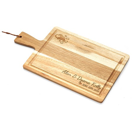 Personalized Anniversary Celebration Cutting Board