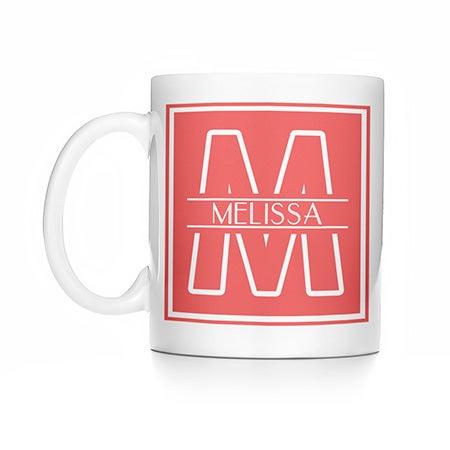 Personalized Initial Coffee Mug