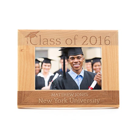 Personalized Graduating Class Wood Frame