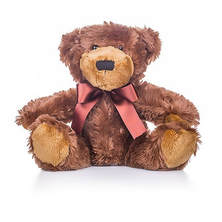 Teddy Bear with Dark Brown Bow | Eve's Addiction®