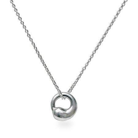 Designer Style Eternal Circle Necklace | Eve's Addiction®