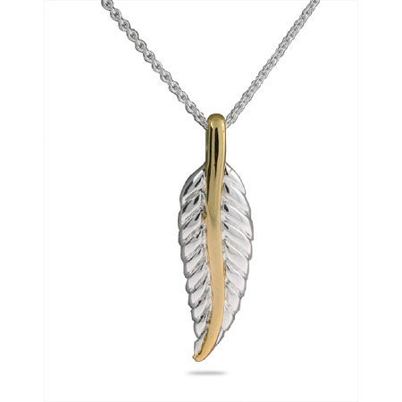Designer Style Nature Leaf Pendant | Eve's Addiction®