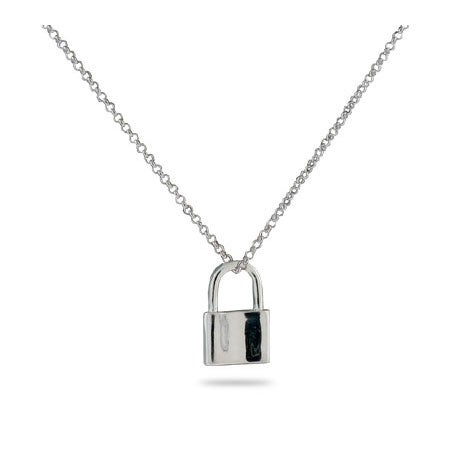 Engravable 1837 Lock Pendant | Eve's Addiction®