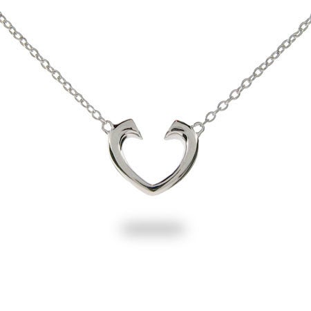Designer Style Tenderness Heart Pendant | Eve's Addiction®
