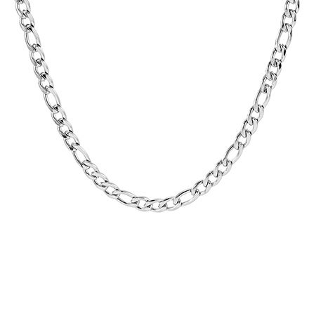 6mm Stainless Steel Figaro Chain | Eve's Addiction