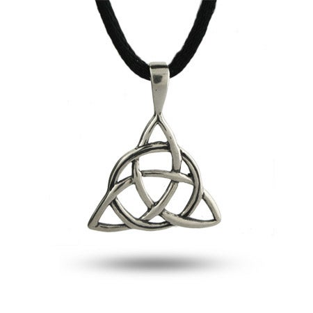 Sterling Silver Celtic Trinity Pendant | Eve's Addiction