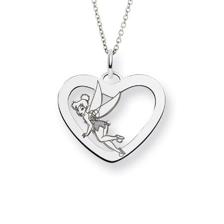 Sterling Silver Tinkerbell Necklace