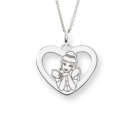 Cinderella Disney Princess Necklace | Eve's Addiction