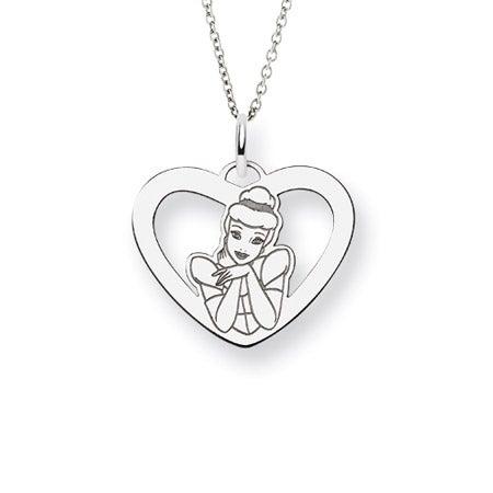 Cinderella Disney Princess Necklace | Eve's Addiction