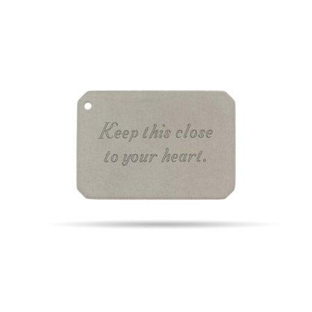 Engravable Secret Message Envelope Insert
