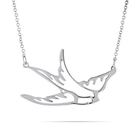 Soaring Sparrow Necklace