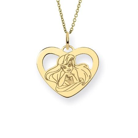 Gold Vermeil The Little Mermaid Ariel Necklace