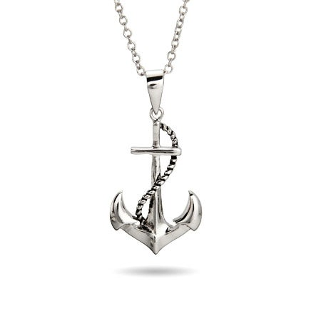 Sterling Silver Sailors Necklace | Eve's Addiction®
