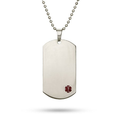 Engravable Medical Id Dog Tag | Eve's Addiction®