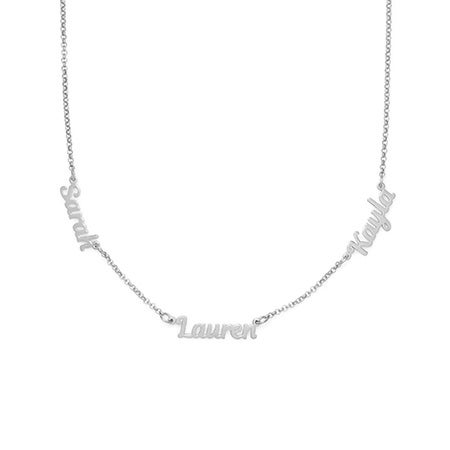 Custom 3 Name Necklace