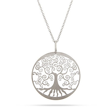Filigree Design Tree of Life Necklace
