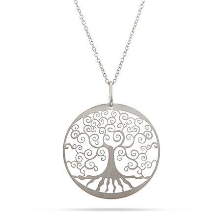 Filigree Design Tree of Life Necklace