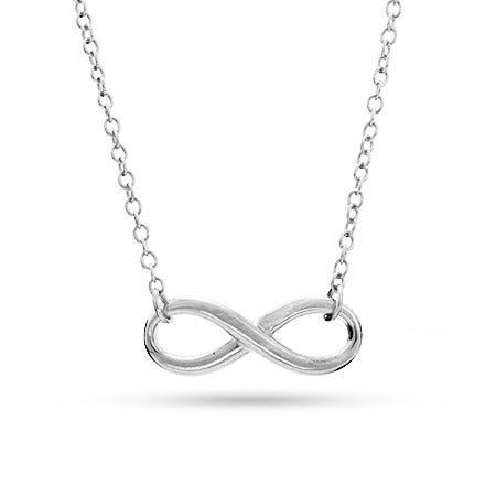 Designer Style Infinity Symbol Necklace | Eve's Addiction®