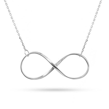 Large Classic Design Infinity Necklace