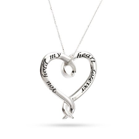You Hold My Heart Forever Necklace   Eve's Addiction
