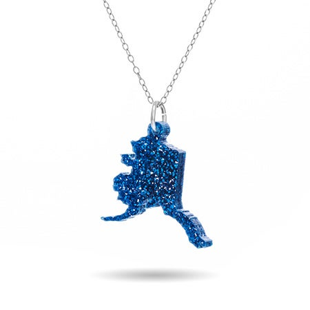 Alaska Acrylic State Necklace | Eve's Addiction®