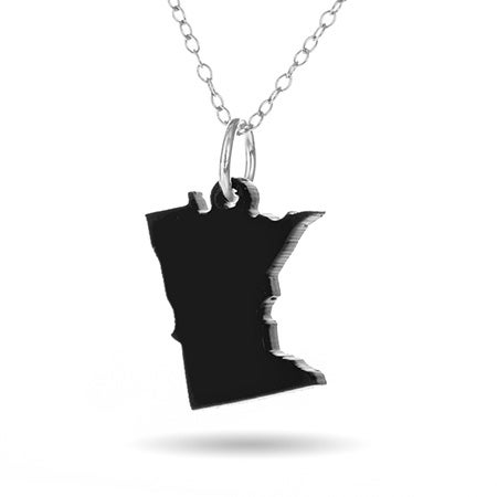 Minnesota Acrylic State Necklace | Eve's Addiction