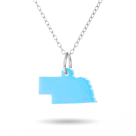 Nebraska Charm Necklace