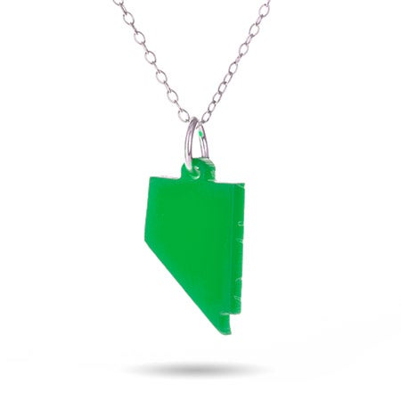 Custom Nevada State Necklace