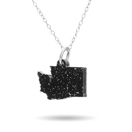 Acrylic Washington State Necklace