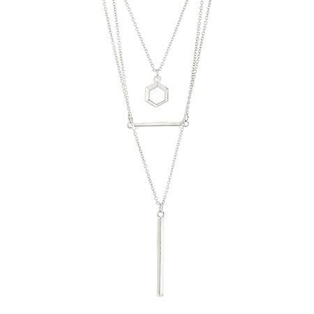 Foxy Cordelia Necklace in Silver