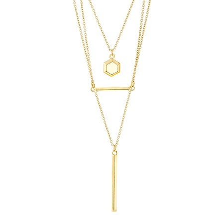 Foxy Cordelia Necklace in Gold