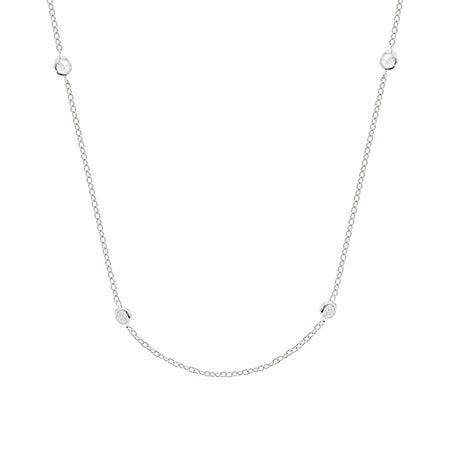 Tiffany Style Sparkling CZ Studded Chain | Eve's Addiction®