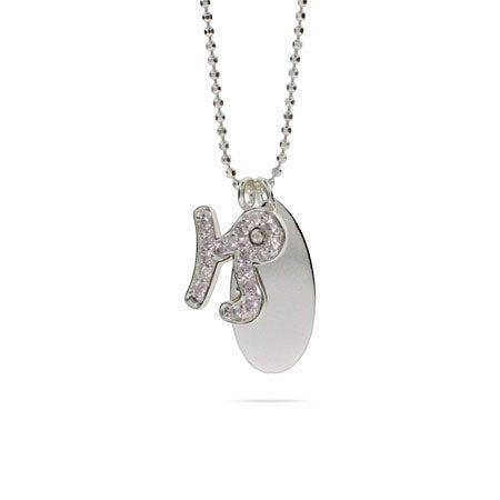 Engravable Sterling Silver CZ Capricorn Necklace | Eve's Addiction