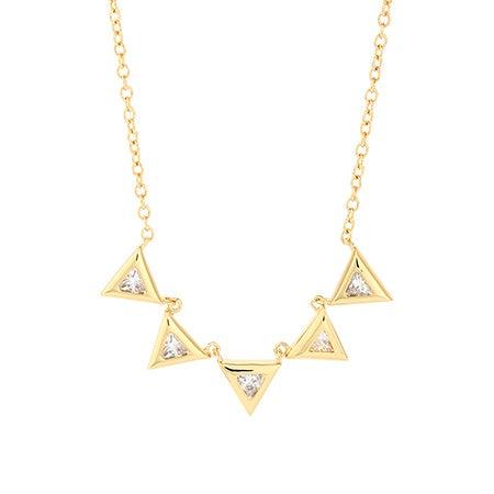 gorjana Vivienne Necklace in Gold