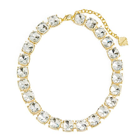Furnish Clear Stones Blake Necklace